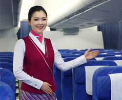 China Southern Airlines economy class