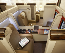 Garuda Indonesia Airlines First Class